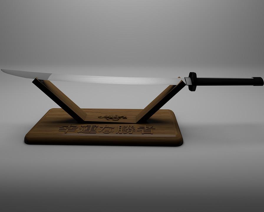 fabrication katana